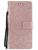 baratos Capinhas para Huawei-Capinha Para Huawei P10 Plus / P10 Lite / P10 Carteira / Porta-Cartão / Com Suporte Capa Proteção Completa Mandala Rígida PU Leather