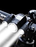 olcso Férfi nyakkendők és csokornyakkendők-Kerékpár világítás Kerékpár első lámpa Biciklis első lámpa LED Kerékpár Kerékpározás Vízálló Többféle üzemmód Szuper fényes Állítható 1900 lm Újratölthető 18650 Fehér Kerékpározás / Alumínium ötvözet