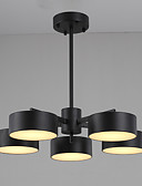Χαμηλού Κόστους Quartz Ρολόγια-JLYLITE 3-Light / 5-Light Πολυέλαιοι Χωνευτό φωτιστικό οροφής Βαμμένα τελειώματα Ακρυλικό Mini Style 110-120 V / 220-240 V Περιλαμβάνεται η πηγή φωτός LED / Ενσωματωμένο LED / FCC / VDE
