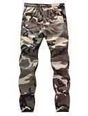 ราคาถูก กางเกงผู้ชาย-สำหรับผู้ชาย พื้นฐาน / Military ทุกวัน แนบเนื้อ / กางเกงวอร์ม กางเกง - อำพราง ฤดูใบไม้ผลิ ฤดูร้อน สีเทา อาร์มี่ กรีน XXXL XXXXL XXXXXL