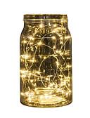 billiga Slipsar och flugor-2m stränglampor 20 leds multicolor fest helgdag jul bröllop dekoration batteri