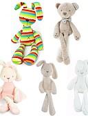 povoljno Kompletići za bebe-50cm Metoo Doll Plush Sweet Cute Rabbit Plüssállatok Lijep Udoban Igračke za kućne ljubimce Poklon 1 pcs
