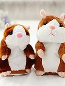 billiga Trosor-Talking Hamster Mus Hamster Gosedjur Söt Gång Talande Leksaker Present 1 pcs