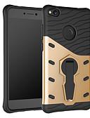 hesapli Cep Telefonu Kılıfları-Pouzdro Uyumluluk Huawei P8 Lite (2017) 360° Dönüş / Şoka Dayanıklı / Satandlı Arka Kapak Zırh Sert PC