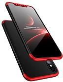 Χαμηλού Κόστους Θήκες iPhone-tok Για Apple iPhone XS / iPhone XR / iPhone XS Max Ανθεκτική σε πτώσεις / Εξαιρετικά λεπτή Πλήρης Θήκη Μονόχρωμο Σκληρή Πλαστική ύλη