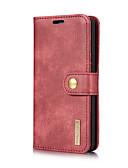 billiga Fodral och omslag-DG.MING fodral Till LG G6 Korthållare / med stativ / Lucka Fodral Enfärgad Hårt Äkta Läder för LG G6