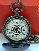 ราคาถูก นาฬิกาพก-สำหรับผู้ชาย สำหรับคู่รัก นาฬิกาใส่ลำลอง นาฬิกาแฟชั่น นาฬิกาแบบพกพา นาฬิกาอิเล็กทรอนิกส์ (Quartz) เงิน นาฬิกาใส่ลำลอง เท่ห์ ระบบอนาล็อก วินเทจ ไม่เป็นทางการ - ดำ / เหลือง ดำ / ขาว