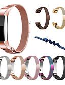 baratos Bandas de Smartwatch-Pulseiras de Relógio para Fitbit Alta HR / Fitbit Alta Fitbit Pulseira Estilo Milanês Aço Inoxidável Tira de Pulso