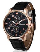 ราคาถูก กางเกงผู้ชาย-สำหรับผู้ชาย นาฬิกาตกแต่งข้อมือ สายการบิน นาฬิกาอิเล็กทรอนิกส์ (Quartz) PU Leather ดำ / น้ำตาล 30 m โครโนกราฟ ระบบอนาล็อก คลาสสิก ไม่เป็นทางการ สง่างาม Aristo - สีทอง-ดำ Rose Gold สีขาว / น้ำเงิน