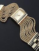 Χαμηλού Κόστους Πολυτελή Ρολόγια-Γυναικεία Για Ζευγάρια Καθημερινό Ρολόι Μοδάτο Ρολόι χρυσό ρολόι Χαλαζίας Ασημί / Χρυσό Καθημερινό Ρολόι Αναλογικό κυρίες Πολυτέλεια Μοντέρνα - Χρυσό Ασημί