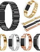 billige Smartwatch Bands-Klokkerem til Fitbit Charge 2 Fitbit Sportsrem Rustfritt stål Håndleddsrem