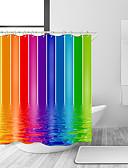 Χαμηλού Κόστους Ανδρικά μπλουζάκια και φανελάκια-Κουρτίνες μπάνιου & γάντζοι Σύγχρονο Μοντέρνα Πολυεστέρας Contemporary Νεωτερισμός Μηχανοποίητο Αδιάβροχη Μπάνιο