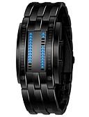 Χαμηλού Κόστους Ψηφιακά Ρολόγια-Ανδρικά Ψηφιακό ρολόι Ανοξείδωτο Ατσάλι Μαύρο / Ασημί 30 m Χρονογράφος Ψηφιακό Καθημερινό - Μαύρο Ασημί Ενας χρόνος Διάρκεια Ζωής Μπαταρίας / SSUO LR626