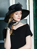 povoljno Večernje haljine-Poliester Kentucky Derby Hat / kape s Mašnica 1pc Special Occasion / Zabava / večer Glava