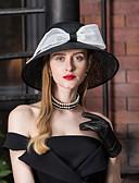 ราคาถูก เครื่องประดับ-Flax Kentucky Derby Hat / fascinators / หมวก กับ ปมผ้า 1pc งานแต่งงาน / งานปาร์ตี้ / งานราตรี หูฟัง