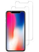povoljno Zaštitne folije za iPhone-AppleScreen ProtectoriPhone X 9H tvrdoća Prednja zaštitna folija 2 kom Kaljeno staklo
