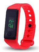 Χαμηλού Κόστους Quartz Ρολόγια-Ανδρικά Γυναικεία Ψηφιακό ρολόι Ψηφιακή σιλικόνη Μαύρο / Λευκή / Μπλε Χρονογράφος LCD Καθημερινό Ρολόι Ψηφιακό Μοντέρνα Κομψό - Κόκκινο Πράσινο Μπλε / Ταχύμετρο