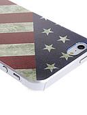billige Etuier/deksler til Huawei-Etui Til iPhone 5 / Apple iPhone SE / 5s / iPhone 5 Mønster Bakdeksel Flagg Hard PC