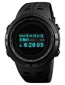 ราคาถูก นาฬิกาดิจิทัล-SKMEI สำหรับผู้ชาย นาฬิกาแนวสปอร์ต นาฬิกาดิจิตอล ญี่ปุ่น ดิจิตอล PU Leather ดำ 50 m กันน้ำ นาฬิกาปลุก โครโนกราฟ ดิจิตอล ไม่เป็นทางการ แฟชั่น - สีดำ แดง ฟ้า หนึ่งปี อายุการใช้งานแบตเตอรี่ / เข็มทิศ