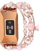 povoljno Smartwatch bendovi-Pogledajte Band za Fitbit ionic Fitbit Dizajn nakita Metal Traka za ruku