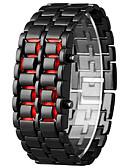Χαμηλού Κόστους Quartz Ρολόγια-Ανδρικά Γυναικεία Ψηφιακό ρολόι Ψηφιακή Μαύρο / Ασημί Ημερολόγιο Χρονογράφος Φωτίζει Ψηφιακό Απίθανο Μοντέρνα - Λευκό Μαύρο Ενας χρόνος Διάρκεια Ζωής Μπαταρίας / SSUO LR626