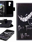 ราคาถูก เคสสำหรับโทรศัพท์มือถือ-Case สำหรับ LG LG V30 / LG V20 / LG Q6 Wallet / Card Holder / with Stand ตัวกระเป๋าเต็ม Word / Phrase Hard หนัง PU / LG G6