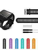 זול להקות Smartwatch-צפו בנד ל Forerunner 910XT Garmin רצועת ספורט סיליקוןריצה רצועת יד לספורט