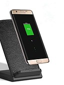 baratos Carregadores Sem Fio-Carregador Sem Fios Carregador USB Universal Carregador Sem Fios Não suportado 2.1 A DC 5V para iPhone X / iPhone 8 Plus / iPhone 8