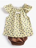 זול שמלות לתינוקות-סט של בגדים ללא שרוולים פירות בסיסי יוניסקס תִינוֹק / פעוטות