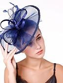 ราคาถูก ที่คาดผมสตรี-สำหรับผู้หญิง Kentucky Derby แฟชั่น สง่างาม ฮารด์แวร์ หมวก งานแต่งงาน ปาร์ตี้ - สีพื้น / ทุกฤดู