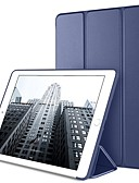 זול במקרה iPad-מגן עבור Apple מיני iPad 5 / iPad Air Air (2019) / iPad Mini 3/2/1 עם מעמד / אוריגמי / מגנטי כיסוי מלא אחיד קשיח עור PU