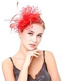ราคาถูก ที่คาดผมสตรี-สำหรับผู้หญิง Kentucky Derby วินเทจ สง่างาม ฮารด์แวร์ หมวก งานแต่งงาน ปาร์ตี้ - สีพื้น / ทุกฤดู