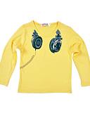 povoljno Majice za Za dječake bebe-Dijete Dječaci Osnovni Dnevno / Sport Print Dugih rukava Regularna Pamuk Majica s kratkim rukavima Sive boje