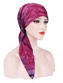 povoljno Ženski šeširi-Žene Color block Osnovni / Vjenčanje Poliester - Šešir širokog oboda / Ljeto / Sva doba