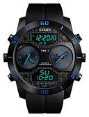 Χαμηλού Κόστους Αθλητικό Ρολόι-SKMEI Ανδρικά Αθλητικό Ρολόι Στρατιωτικό Ρολόι Ψηφιακό ρολόι Ιαπωνικά Ψηφιακό Συνθετικό δέρμα με επένδυση Μαύρο 50 m Ανθεκτικό στο Νερό Συναγερμός Χρονογράφος Αναλογικό-Ψηφιακό Καθημερινό Μοντέρνα -