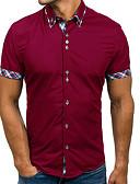 povoljno Muške polo majice-Majica Muškarci - Osnovni Dnevno Jednobojni Navy Plava / Kratkih rukava