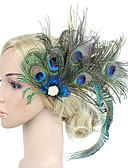 billiga Kvinnors hårtillbehör-Dam Kentucky Derby Vintage Elegant Tyg Kubisk Zirkoniumoxid Huvudbonad Hårspännen Bröllop Party / Alla årstider