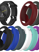 olcso Smartwatch tok-Case Kompatibilitás Garmin vivomove HR Silica Gel Garmin