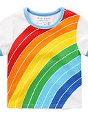 povoljno Majice za Za dječake bebe-Dijete Djevojčice Osnovni Dnevno Print Kratkih rukava Majica s kratkim rukavima Obala / Dijete koje je tek prohodalo