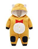 זול שמלות לתינוקות-מקשה אחת One-pieces שרוול ארוך דפוס פעיל יוניסקס תִינוֹק
