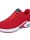 povoljno Kompletići za dječake-Žene Atletičarke tenisice Ravna potpetica Okrugli Toe Mikrovlakana / Elastična tkanina Udobne cipele Trčanje / Fitnes i cross trening Proljeće ljeto Crvena / Crvena / Pink