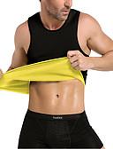 Χαμηλού Κόστους Αντρικά Εσώρουχα & Κάλτσες-Δερμάτινη τσάντα Γιλέκο μέσης για γυμναστική Νεροπλένιο Top Tank Αθλητισμός Νεοπρένιο Φυσική Κάτάσταση Γυμναστήριο προπόνηση Χωρίς Φερμουάρ Εφίδρωσης Λεπταίνει Απώλεια βάρους Tummy Fat Burner Για
