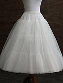 ราคาถูก ชุดชั้นในสำหรับงานแต่งงาน-งานแต่งงาน / งาน / ปาร์ตี้ ซับใน POLY ความยาวของชุดราตรี ชุดชั่นในรัดหุ่น / ความยาว กับ พลีท
