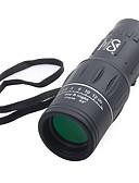 Χαμηλού Κόστους Θήκη Samsung-SRATE 16 X 52 mm Μονόφθαλμο Υψηλή Ανάλυση Φορητά Νυχτερινό όραμα σε χαμηλό φωτισμό Complet Stratificat BAK4 Κατασκήνωση & Πεζοπορία Κυνήγι Ταξίδι Πλαστική ύλη Καουτσούκ Κράμα αλουμινίου