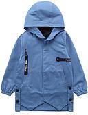olcso Fiú dzsekik és kabátok-Gyerekek Fiú Aktív Alap Egyszínű Hosszú ujj Pamut Ballon kabát Medence
