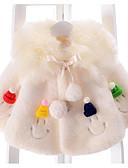 povoljno Vanjska odjeća za bebe-Dijete Djevojčice Osnovni Dnevno Print Dugih rukava Normalne dužine Jakna i kaput Blushing Pink / Dijete koje je tek prohodalo