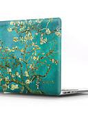 ราคาถูก อุปกรณ์เสริมสำหรับ Mac-MacBook เคส ดอกไม้ พลาสติก สำหรับ New MacBook Pro 15 นิ้ว / New MacBook Pro 13 นิ้ว / MacBook Pro 15-inch