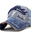 Χαμηλού Κόστους Men's Hats-Ανδρικά Στάμπα Patchwork Βίντατζ Γραφείο Βαμβάκι Πολυεστέρας Τζόκεϊ Φθινόπωρο Χειμώνας Καφέ Μαύρο Ρουμπίνι