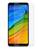 Χαμηλού Κόστους Προστατευτικά οθόνης για Xiaomi-XIAOMIScreen ProtectorXiaomi Redmi Σημείωση 5 Επίπεδο σκληρότητας 9H Προστατευτικό μπροστινής οθόνης 1 τμχ Σκληρυμένο Γυαλί