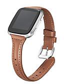 povoljno Maske za mobitele-Pogledajte Band za Fitbit Versa Fitbit Moderna kopča Prava koža Traka za ruku